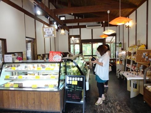カドーレ 上ノ原チーズケーキの店内 画像