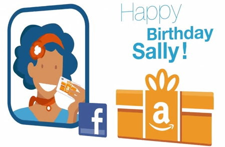 Facebook Amazonと連動、誕生日プレゼントを贈れるサービス開始へ!