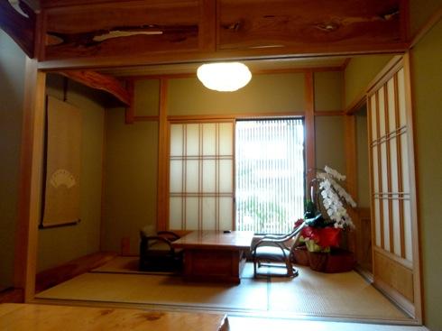 東広島 ふく政の店内
