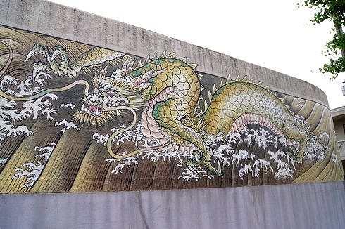 広島拘置所の壁画、200メートルの巨大絵巻が完成