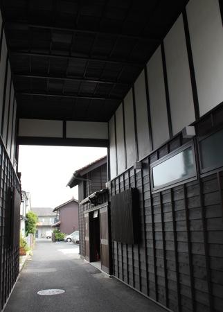 くぐり門の内部の写真
