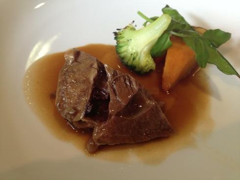 MILLE(ミル) コースの肉料理