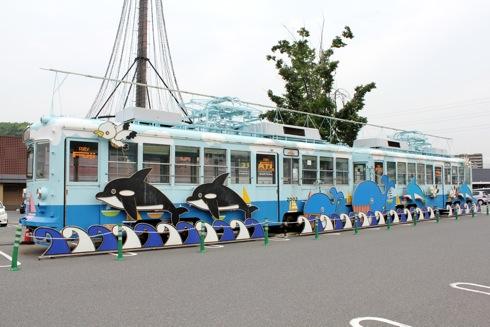 パルティフジ坂 電車の画像2