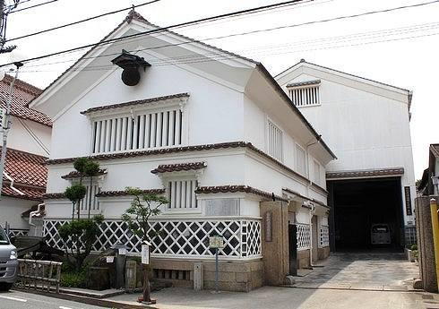 酒蔵通り、東広島市西条の町並み5
