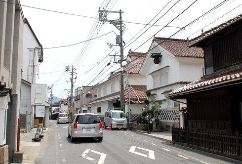 酒蔵通り、東広島市西条の町並み9