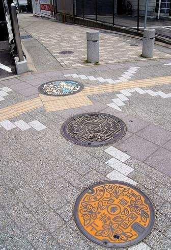 東広島市のマンホール