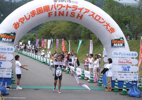 宮島 トライアスロン2013、廿日市を縦断する鉄人レース