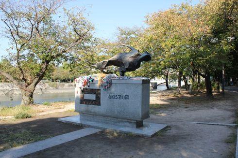 ヒロシマの碑、戦争も原爆も知らない世代が残した想い