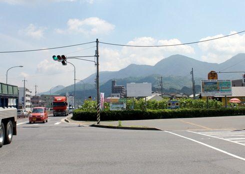 海田町の ひまわり畑 東広島バイパスの横に