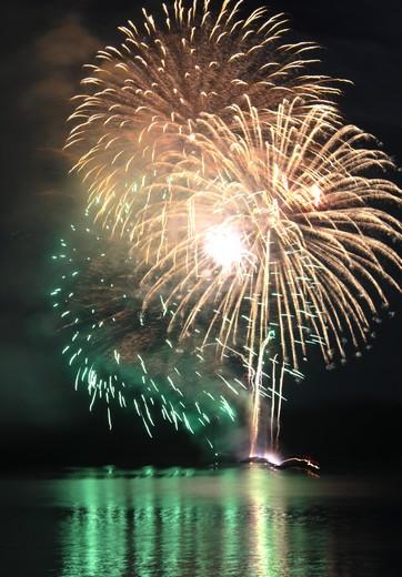 くらはし遣唐使船まつり 花火の写真7