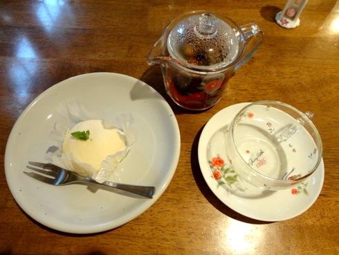 吉和 ミントハウスのケーキセット 画像