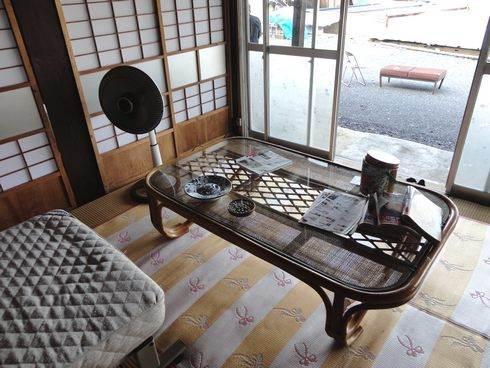 東広島市のライダーハウス、旅の宿 ルート375 室内