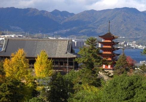 千畳閣(豊国神社) 宮島の寺院