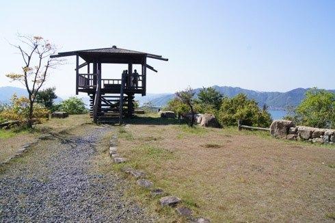 因島 白滝山の中腹展望台の画像2