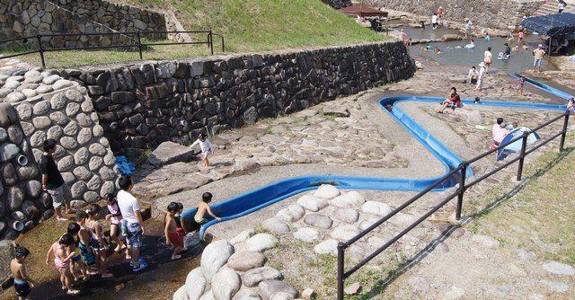 大狩山砂防ダム公園 ウォータースライダーの画像8
