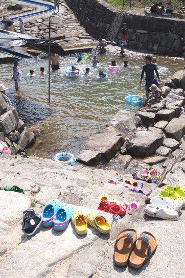 大狩山砂防ダム公園 ウォータースライダーの画像5