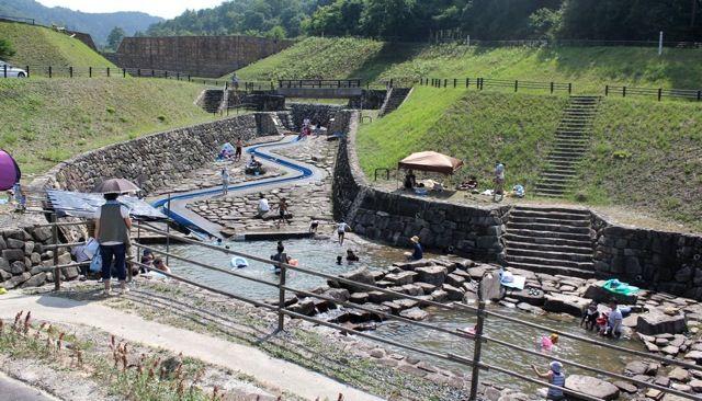 大狩山砂防ダム公園 全体の画像