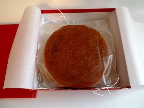 敦盛さん 高野りんごのバターケーキ 中身