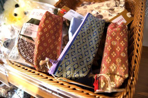 道の駅たかの 畳のへりバッグ