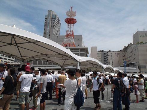 全国消防救助技術大会 広島 会場の様子