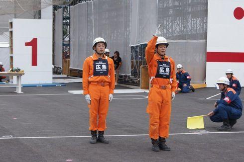 全国消防救助技術大会 広島の出場者