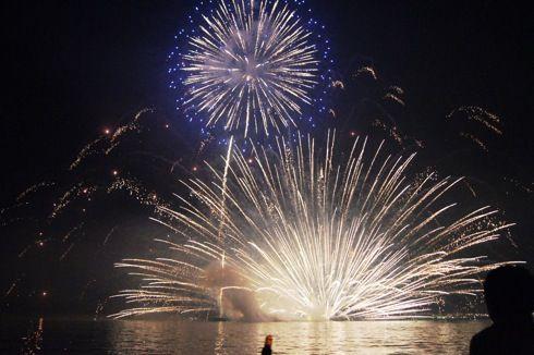宮島水中花火大会 画像4