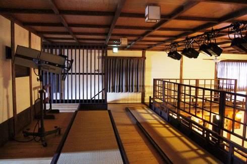 乙女座の2階とスポットライト