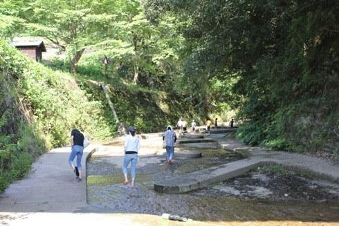 江の川カヌー公園さくぎ 川遊びゾーン