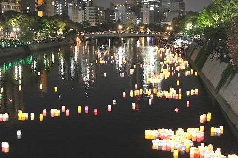 広島 とうろう流しの画像7