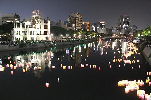 広島 とうろう流しの画像6