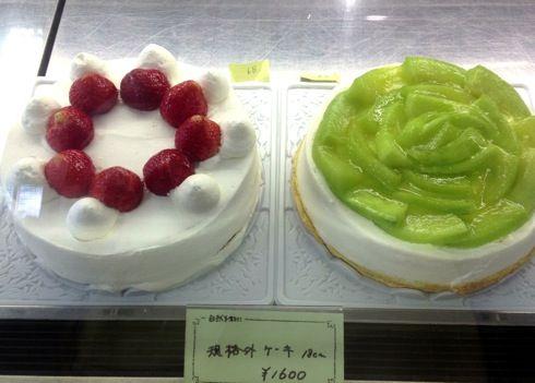 バッケンモーツアルト 廿日市店 ケーキのショーケース