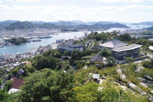千光寺公園展望台 からの景色