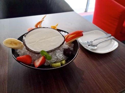 カフェ ガルリ ココナッツアイスの画像