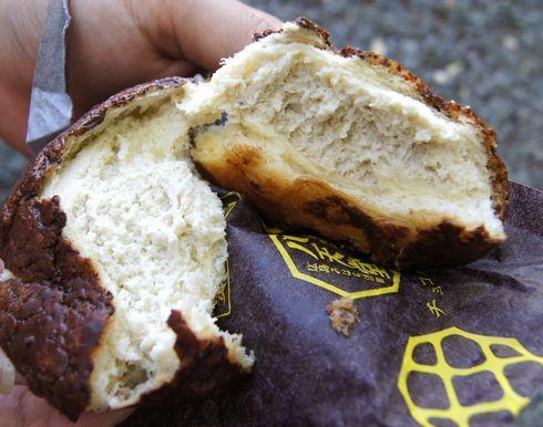 チョコバナナのメロンパン