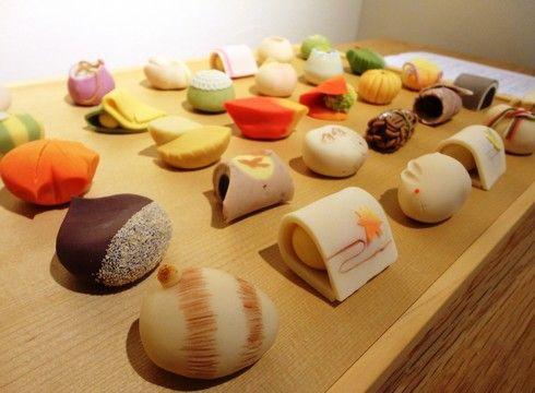 旬月 神楽、本格的な生菓子が美しい和菓子店!教室も