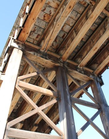 錦帯橋 橋の裏側2