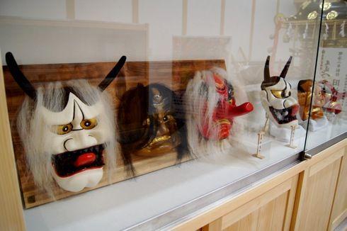 尾道 ベッチャー祭りの御旅所(おたびしょ)、鬼神の面や神輿を間近で