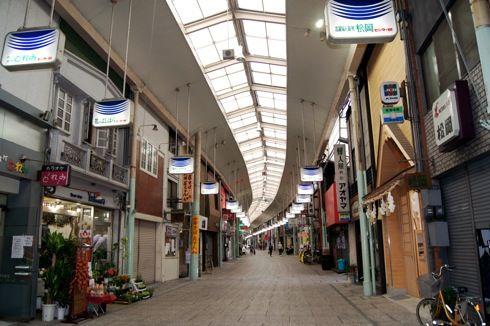 尾道 ベッチャー祭りの御旅所 と尾道商店街