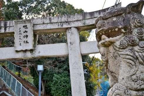 旭山神社 入口の様子