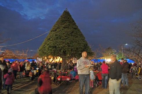米軍岩国基地 クリスマスイベントの様子3