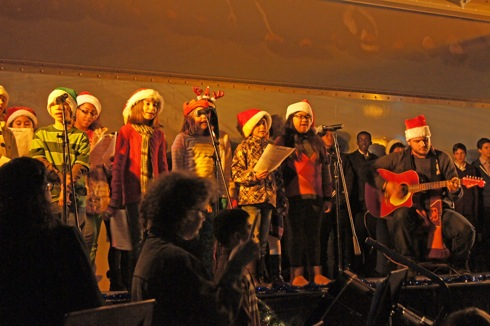 米軍岩国基地 クリスマスイベントの様子2