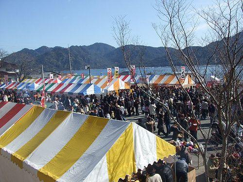 牡蠣祭り2010! 大野かきフェスティバルの様子