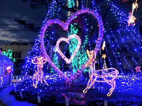 大竹駅前イルミネーション 画像6