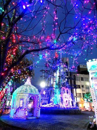 大竹駅前イルミネーション 画像8
