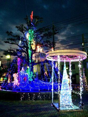 大竹駅前イルミネーション 画像5