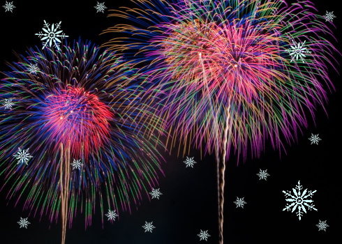 雪の花火大会!? みんなでつくる湯来のお祭り、水内川 住民交流花火大会