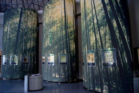 バンブージョイハイランド 竹の館の中