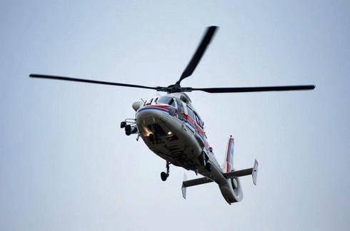 ヘリコプターも迫力ある