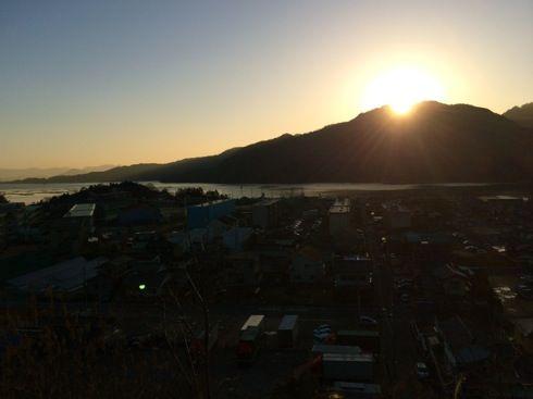 宮島からの朝日の画像4
