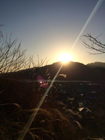 宮島からの朝日の画像5